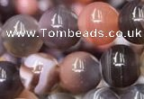 CAA1252 15.5 inches 8mm round Botswana agate beads wholesale