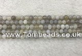 CAA1801 15.5 inches 6mm round banded agate gemstone beads