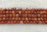 CAA1902 15.5 inches 8mm round banded agate gemstone beads