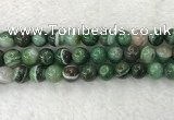 CAA1996 15.5 inches 16mm round banded agate gemstone beads