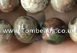 CAA2373 15.5 inches 10mm round ocean agate beads wholesale