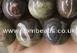 CAA2374 15.5 inches 12mm round ocean agate beads wholesale
