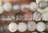 CAA2378 15.5 inches 4mm round Botswana agate beads wholesale