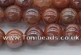 CAA3501 15.5 inches 6mm round AB-color fire agate beads wholesale