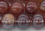 CAA3503 15.5 inches 10mm round AB-color fire agate beads wholesale