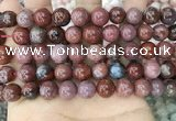 CAA3623 15.5 inches 10mm round Portuguese agate beads wholesale