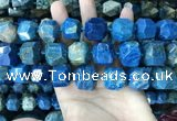 CAA3711 18*20mm - 20*22mm faceted nuggets chrysanthemum agate beads