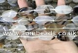 CAA3740 15.5 inches 15*30mm oval Montana agate beads wholesale