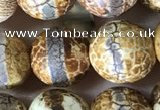 CAA3891 15 inches 10mm round tibetan agate beads wholesale
