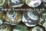 CAA3909 15 inches 10mm round tibetan agate beads wholesale