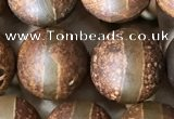 CAA3920 15 inches 12mm round tibetan agate beads wholesale