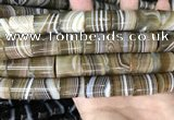 CAA3947 15.5 inches 15*18mm tube Madagascar agate beads wholesale