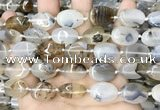 CAA4373 15.5 inches 13*18mm oval Montana agate beads wholesale