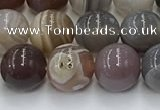 CAA4866 15.5 inches 8mm round Botswana agate beads wholesale