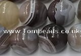 CAA4867 15.5 inches 10mm round Botswana agate beads wholesale