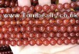 CAA4948 15.5 inches 8mm round bamboo leaf agate beads wholesale