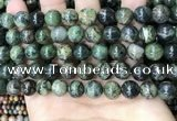 CAA4967 15.5 inches 10mm round green dendritic agate beads