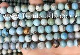 CAA4973 15.5 inches 8mm round agate gemstone beads wholesale