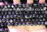 CAA4976 15.5 inches 8mm round Madagascar agate beads wholesale