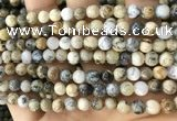 CAA5256 15.5 inches 6mm round dendrite agate beads wholesale