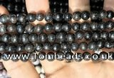 CAE305 15.5 inches 6mm round astrophyllite gemstone beads