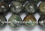 CAF107 15.5 inches 16mm round Africa stone beads wholesale