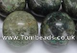CAF111 15.5 inches 25mm round Africa stone beads wholesale