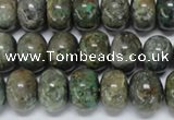 CAF115 15.5 inches 6*10mm rondelle Africa stone beads wholesale