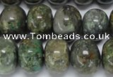 CAF118 15.5 inches 12*16mm rondelle Africa stone beads wholesale