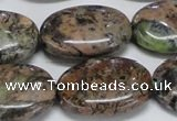 CAF130 15.5 inches 20*30mm oval Africa stone beads wholesale