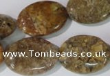 CAG1737 15.5 inches 18*25mm oval rainbow agate beads wholesale