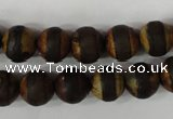 CAG4758 15 inches 10mm round tibetan agate beads wholesale