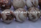 CAG6667 15.5 inches 18mm round Mexican crazy lace agate beads