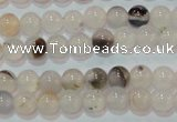 CAG7140 15.5 inches 4mm round Montana agate gemstone beads