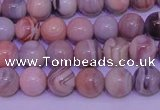 CAG7302 15.5 inches 8mm round red botswana agate gemstone beads