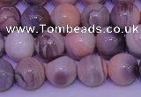 CAG7303 15.5 inches 10mm round red botswana agate gemstone beads