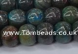 CAG9509 15.5 inches 11*14mm drun blue crazy lace agate beads