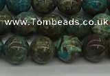 CAG9602 15.5 inches 10mm round ocean agate gemstone beads wholesale