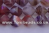 CAG9793 15.5 inches 10mm faceted nuggets botswana agate beads