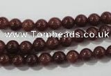 CAJ451 15.5 inches 6mm round purple aventurine beads wholesale