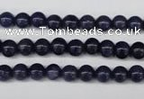 CAJ551 15.5 inches 6mm round blue aventurine beads wholesale