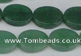 CAJ681 15.5 inches 15*20mm oval green aventurine beads