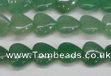 CAJ685 15.5 inches 12*12mm heart green aventurine beads