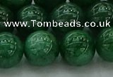 CAJ725 15.5 inches 14mm round green aventurine beads wholesale