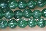 CAJ810 15.5 inches 4mm round green Indian aventurine beads