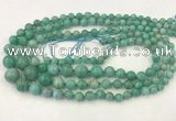 CAM1670 15.5 inches 6mm - 14mm round amazonite graduated beads