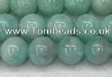 CAM1686 15.5 inches 6mm round natural amazonite beads wholesale