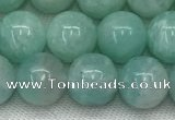 CAM1687 15.5 inches 8mm round natural amazonite beads wholesale
