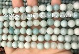 CAM1722 15.5 inches 8mm round amazonite beads wholesale