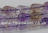 CAN26 15.5 inches 10*14mm teardrop natural ametrine gemstone beads